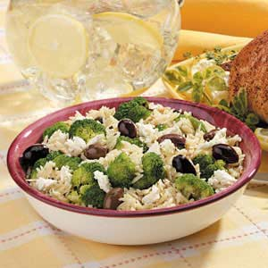 Greek Orzo and Broccoli Recipe