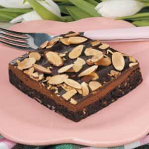 Almond Truffle Brownies Recipe