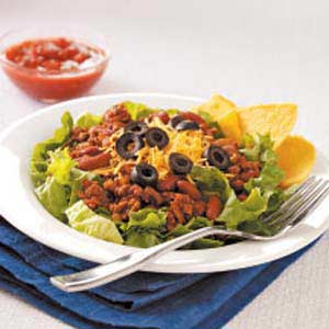 Hearty Ground Beef Salad Recipe