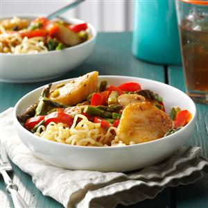 Stir-Fried Scallops and Asparagus Recipe