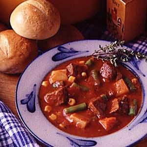 Pronto Beef  Vegetable Soup Recipe
