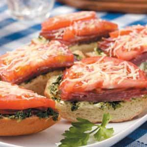 Genoa Sandwich Loaf Recipe