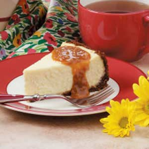 Ginger Toffee Cheesecake Recipe