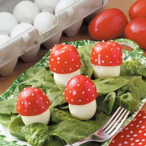 Fairy-Tale Mushrooms Recipe