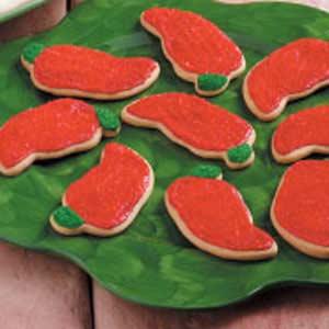 Chili Pepper Cookies Recipe