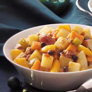 Fruited Holiday Vegetables Recipe