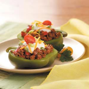 South-of-the-Border Stuffed Peppers