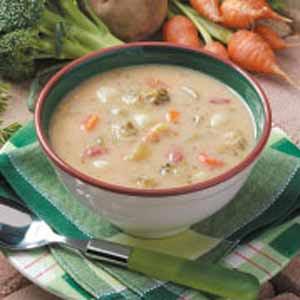Southwestern Broccoli Cheese Soup