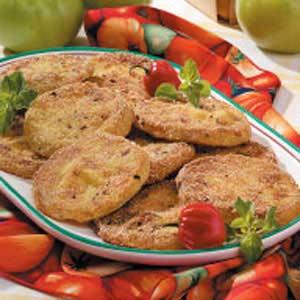 Zesty Fried Green Tomatoes Recipe