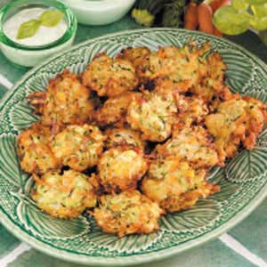 Carrot Zucchini Fritters Recipe