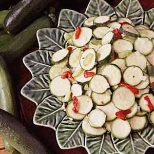 Marinated Zucchini Salad Recipe