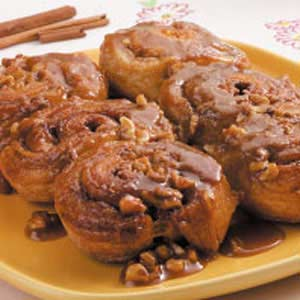 Caramel Sweet Rolls Recipe