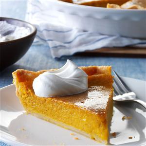 Squash Custard Pie