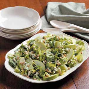 Blue Cheese Romaine  Salad Recipe
