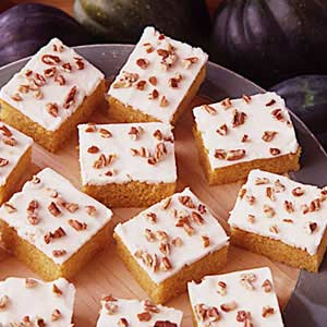 Winter Squash Squares Recipe