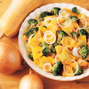 Squash and Broccoli Stir-Fry Recipe
