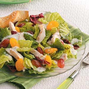Fruity Chicken Tossed Salad Recipe