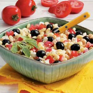 Greek Macaroni Salad Recipe