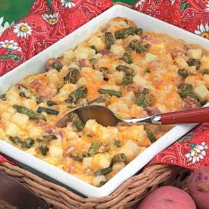 Green Bean Potato Bake Recipe