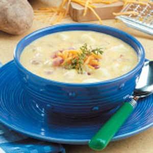 recipe: velveeta cheese potato soup recipe [32]