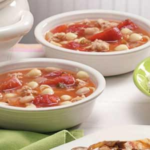 Turkey Pasta Soup Recipe