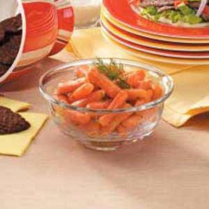 Mustard-Glazed Carrots Recipe