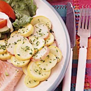 Summer Squash and Potato Saute Recipe
