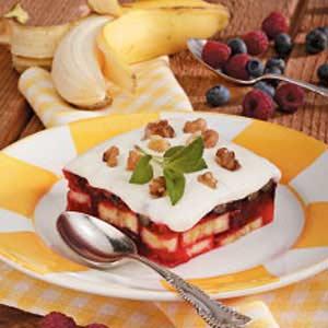 Frosted Fruit Gelatin Recipe