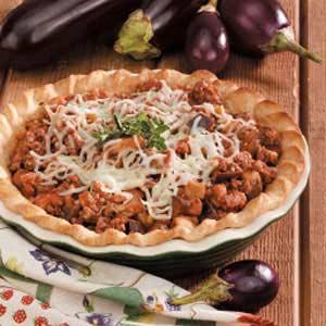 Beef 'n' Eggplant Pie Recipe