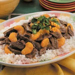 Orange Beef Teriyaki Recipe