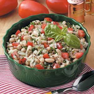 White Bean Tomato Salad Recipe