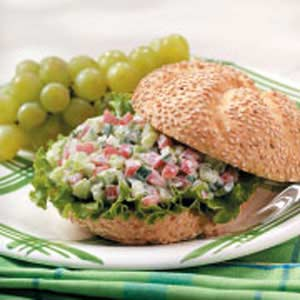 Crunchy Veggie Sandwiches Recipe