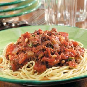 Sicilian Spaghetti Sauce Recipe