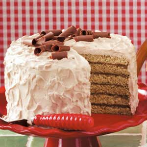 Chocolate Chiffon Torte Recipe