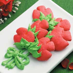 Rosebud Butter Cookies Recipe