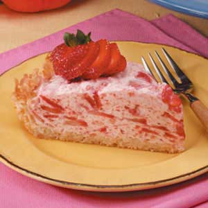 Bavarian Strawberry Pie Recipe