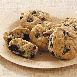 Blueberry Oatmeal Muffins Recipe