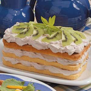 Mousse-Topped Pound Cake Recipe