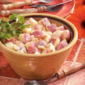 Creamy Skillet Potatoes Recipe