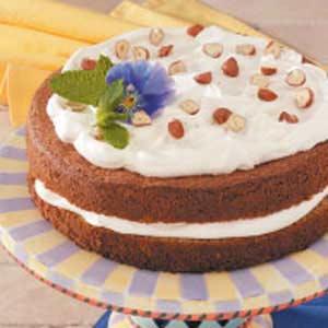 Austrian Hazelnut Torte Recipe