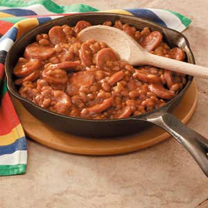 Kielbasa with Baked Beans Recipe