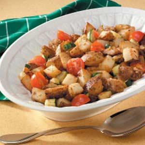 Herbed Potatoes and Veggies Recipe