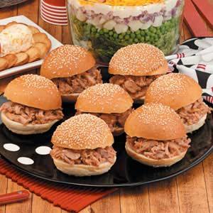 Spare-Rib Sandwiches Recipe