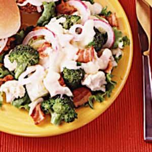 Quick Layered Lettuce Salad Recipe