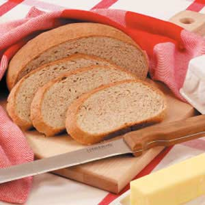 Round Whole Wheat Loaves Recipe