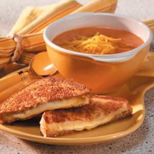 Green Chili Tomato Soup Recipe