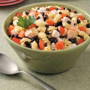 Chicken Spiral Salad Recipe