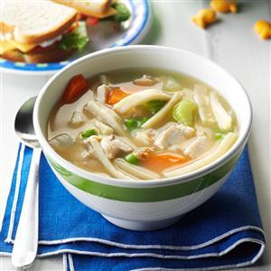 Easy Turkey Noodle Soup Recipe