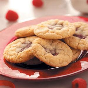 Coconut Raspberry Cookies Recipe
