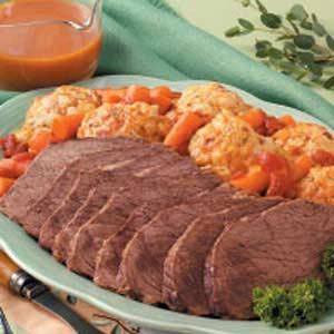 Curried Beef with Dumplings Recipe